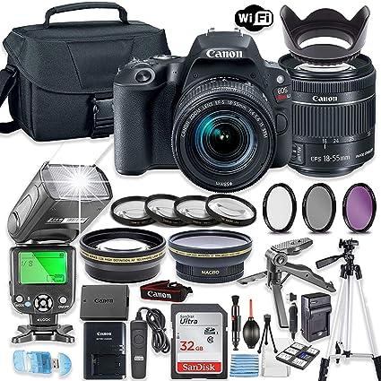 Amazon.com: Canon EOS Rebel SL2 - Juego de cámaras réflex ...