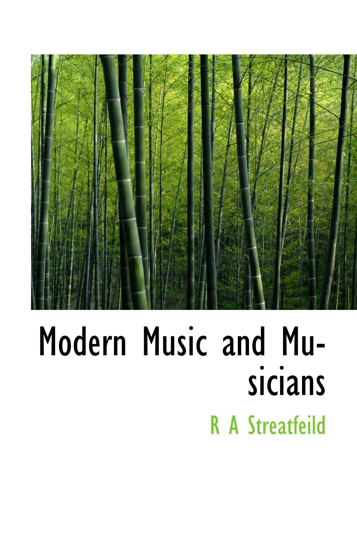 Read Online Modern Music and Musicians PDF