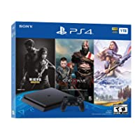 Sony PlayStation 4 1TB Only on PlayStation Console Bundle (Jet Black)