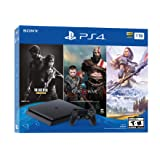 Sony Playstation 4 Console with Bundle (Last of Us, God of War, Horizon Zero Dawn), 1 TB - US Version (R1)