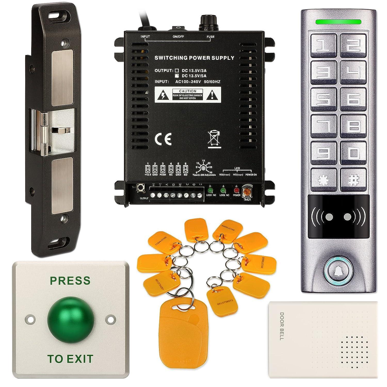 Amazon com : DIY Access Control Waterproof Keypad Office