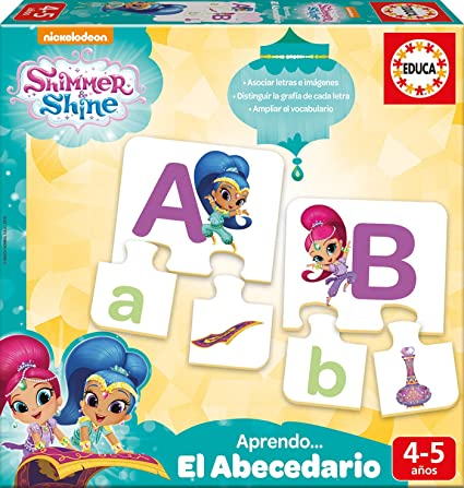 Amazon.com: Educa Borrás - Shimmer and Shine I Learn The ...