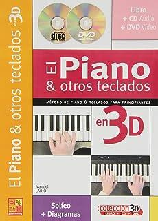 Iniciación al piano y otros teclados en 3D - 1 Libro + 1 CD + 1
