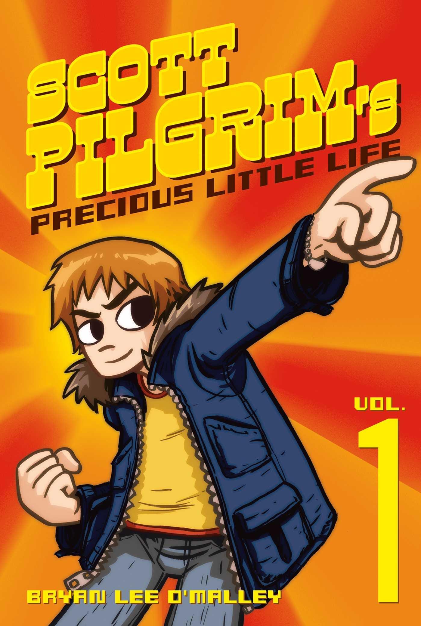 Precious Little Life Copertina rigida Scott Pilgrim 1