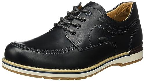 Geox D Blk Wisdom a Negro Schwarz Blk D Fretz Hombre Lee Zapatos de Cordones b00e64