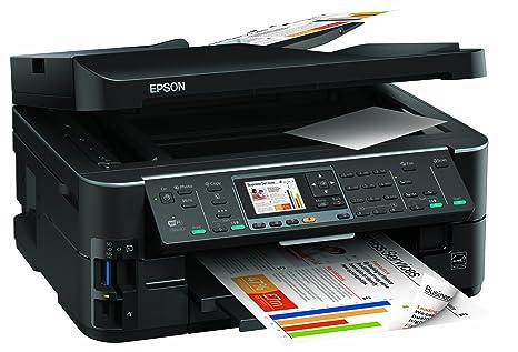Epson Stylus Office BX635FWD - Impresora multifunción (Inyección de Tinta, Color, Color, 38 ppm, 5760 x 1440 dpi, 38 ppm) Negro