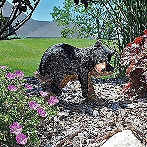 Design Toscano JQ8560 Catnapping Cub Black Bear Statue