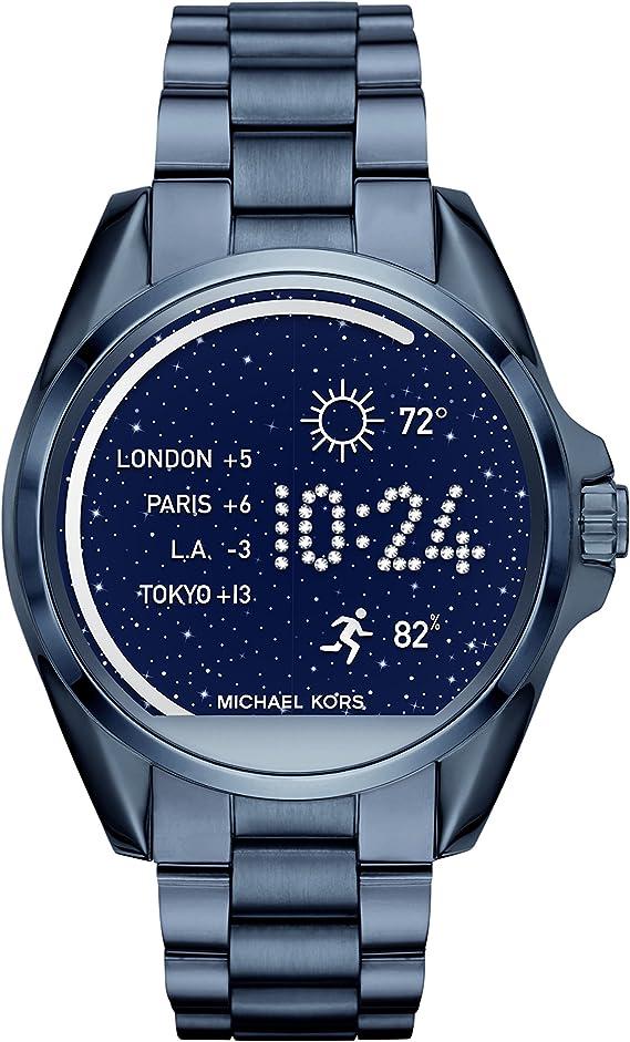 Michael Kors Reloj para Mujer de Digital con Correa en Acero ...