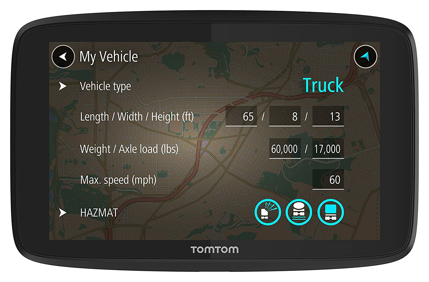 TomTom Trucker 620 6-Inch GPS Navigation Device
