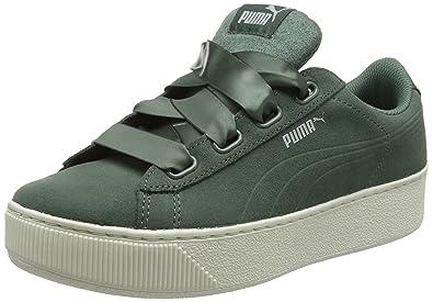 Platform Ribbon Puma Vikky Femme SSneakers Basses 2YeHEWD9I
