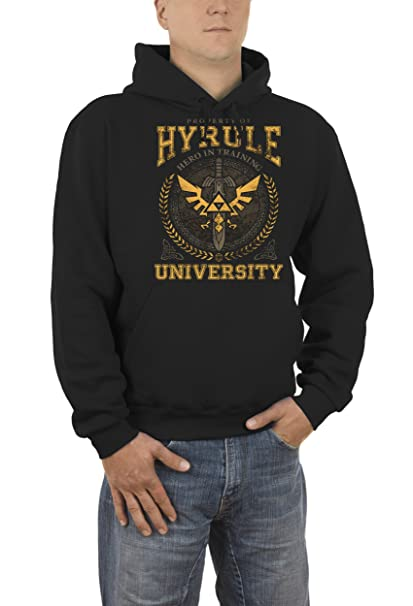 967cb42f19d7 Hyrule University - Sudadera con capucha