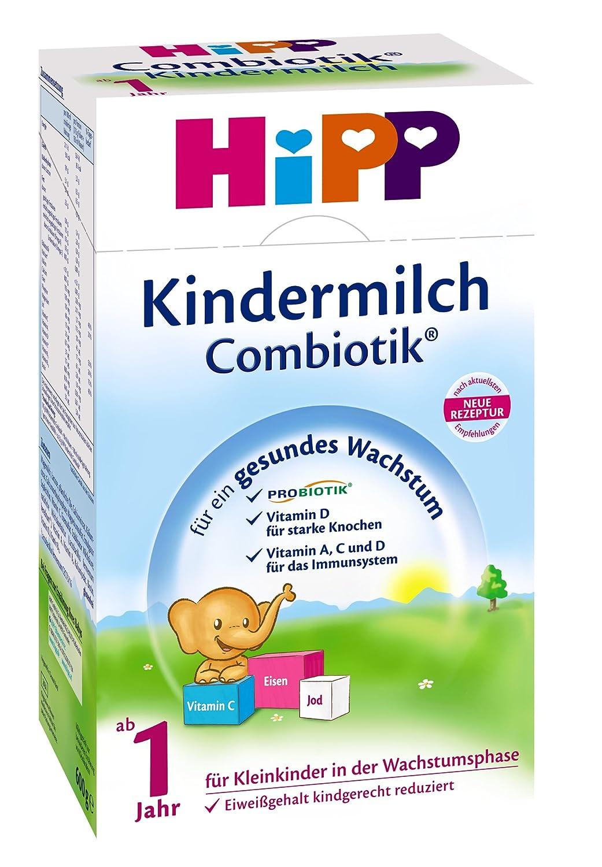 Hipp Kindermilch Bio Combiotik - ab dem 1. Jahr - 12er Pack (12 x 600g)