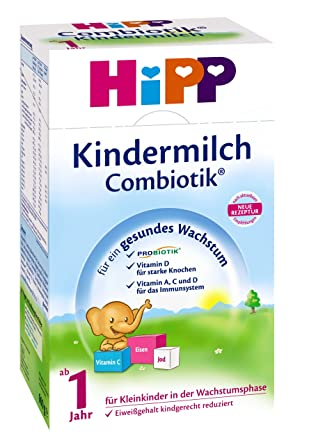 leche para bebés Hipp Bio Combiotik - de 1 año, 600 g