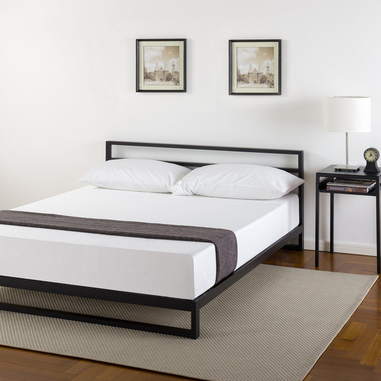 Amazon Zinus 7 Inch Platforma Bed Frame with Headboard