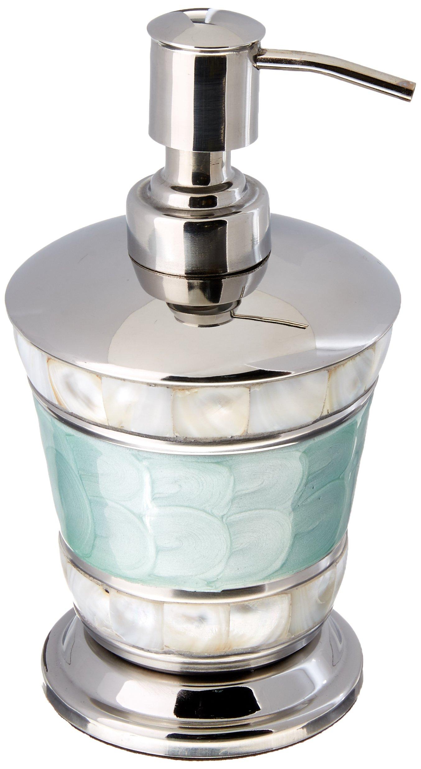 Julia Knight Classic 7'' Soap/Lotion Dispenser, One Size, Aqua