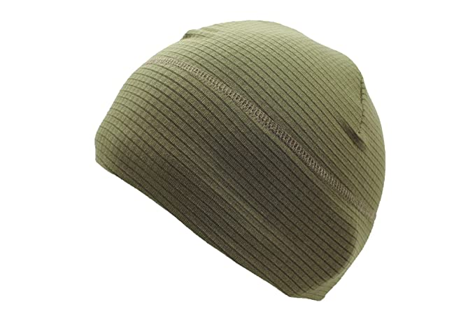 Mil Tec Quick Dry Beanie Hat (Green): Amazon.co.uk: Clothing