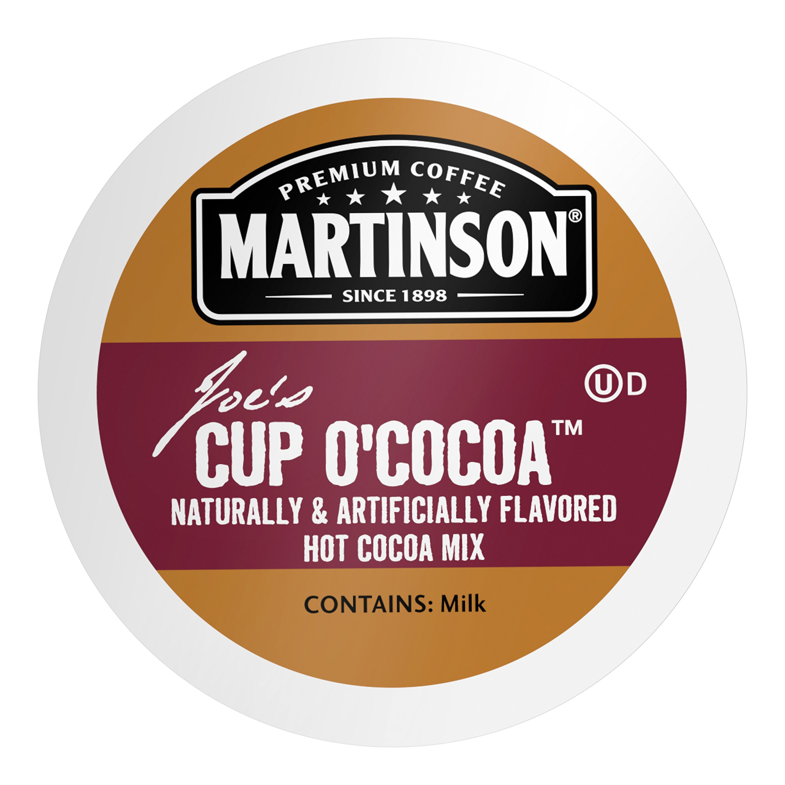 Martinson Single Serve Coffee Capsules, Hot Cocoa, 24 Count