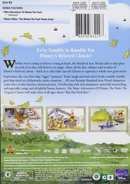 amazon com the many adventures of winnie the pooh sebastian