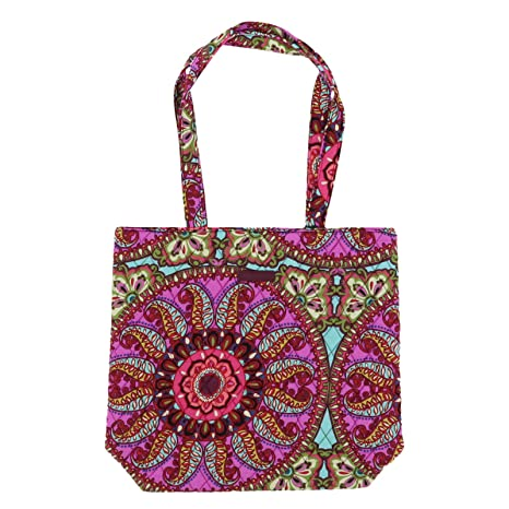 8054b46104 Amazon.com  Vera Bradley Women s Tote (Resort Medallion)  Kitchen ...