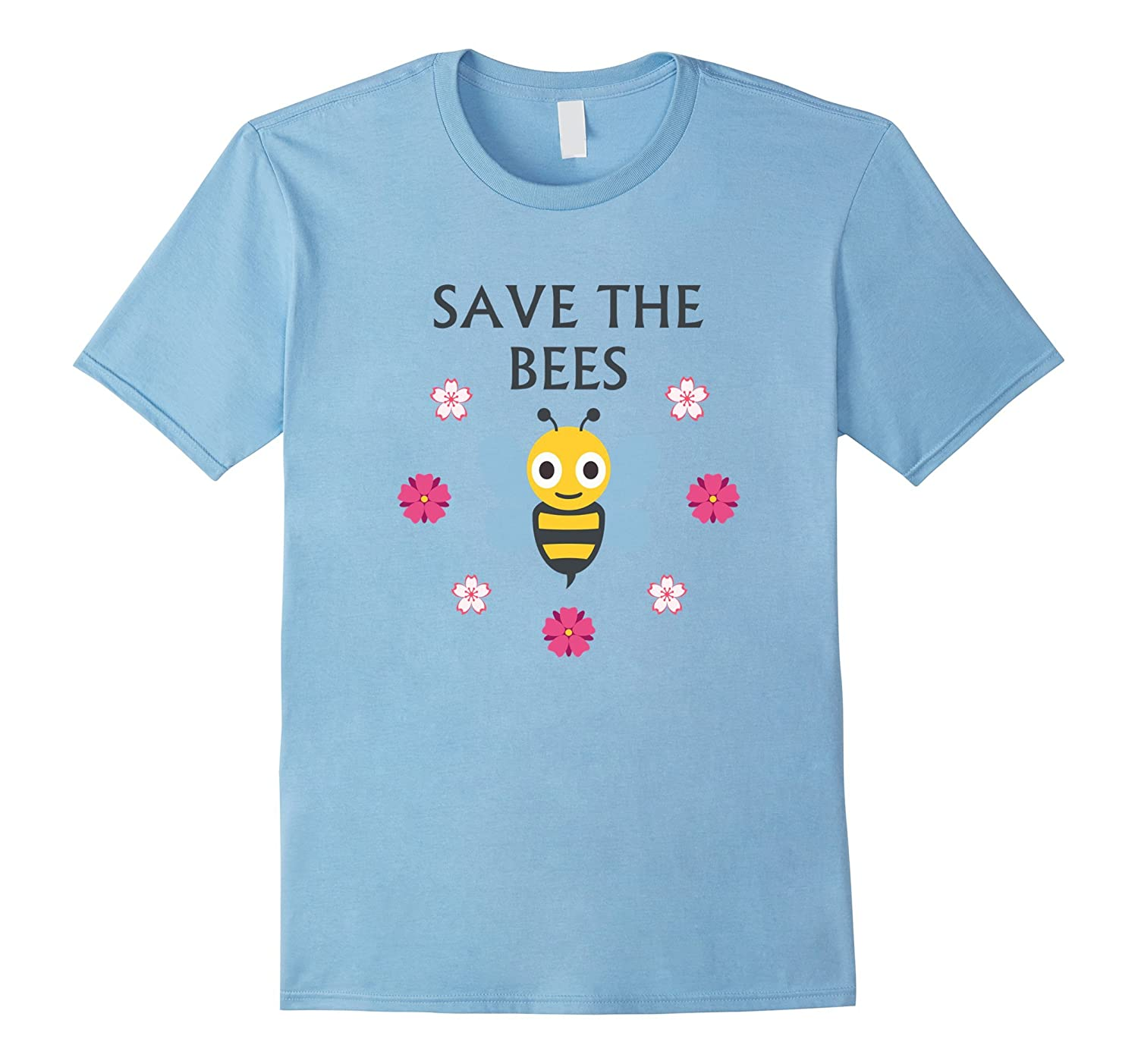 Save The Bees T-Shirt For Nature Lovers Animal Tee Earth Day
