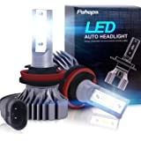 H11/H8/H9 LED Headlight Bulbs – Pohopa Headlights All-in-One Conversion Kit 2Packs (DOT Approved) Low Beam/Fog Light Bulb with 50W 8000LM Light Bulbs CSP LED Chips - Cool White 5500K -2 Year Warrant