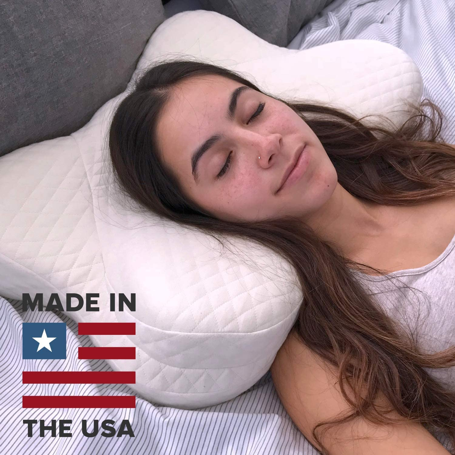 Cradle Me Cervical Pillow