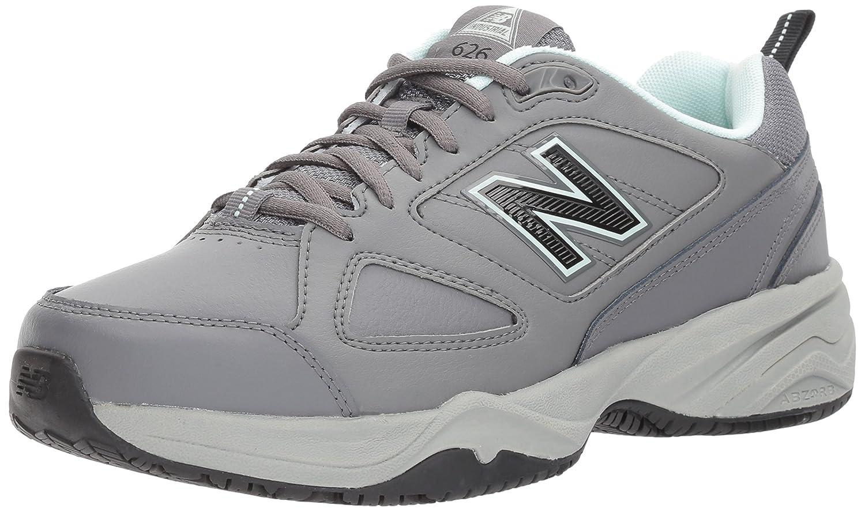 New Balance Women's WID626v2 Work Training Shoe B01MQZQKE5 11 2E US|Grey/Blue
