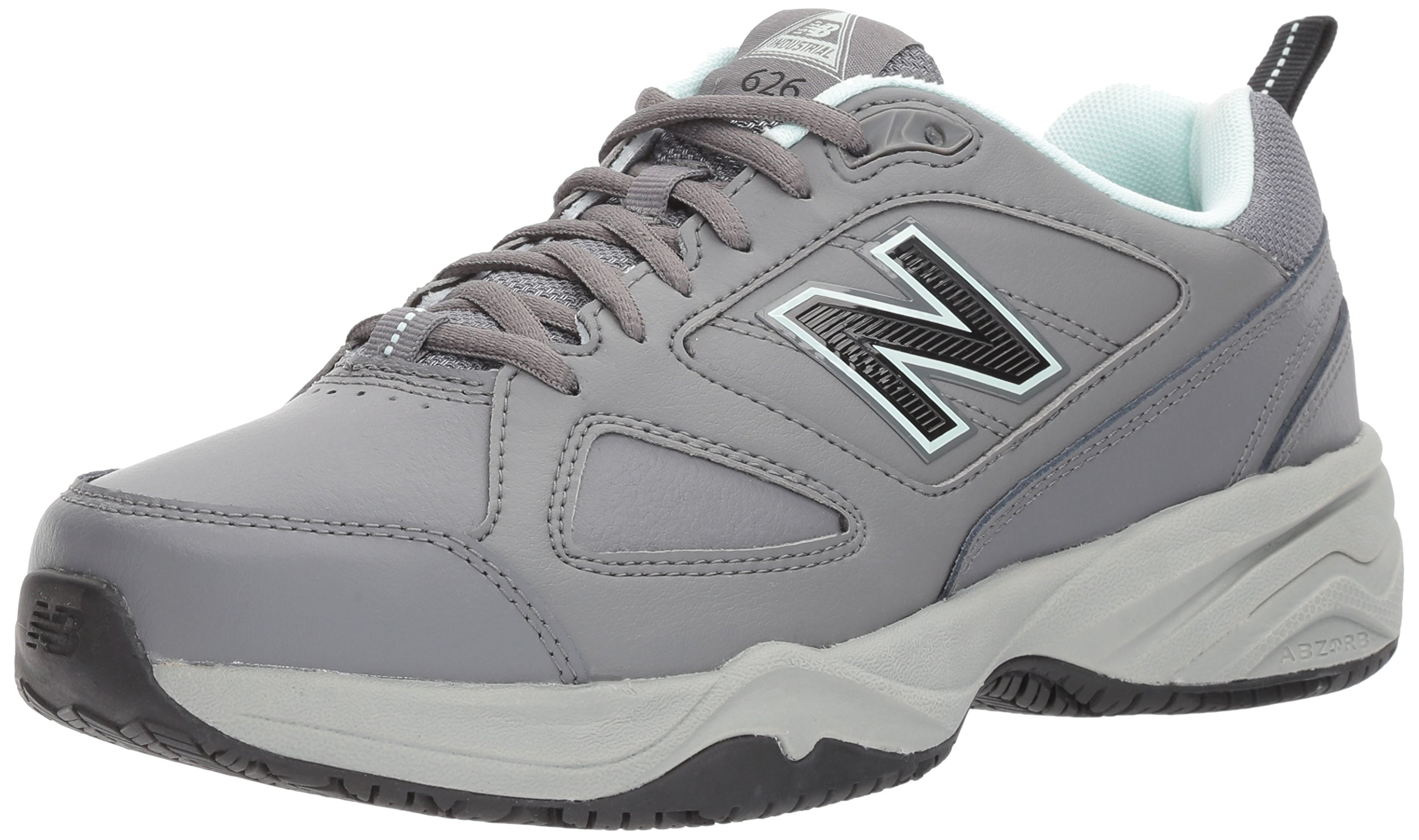 New Balance Women's WID626v2 Work Training Shoe, Grey/Blue, 13 D US