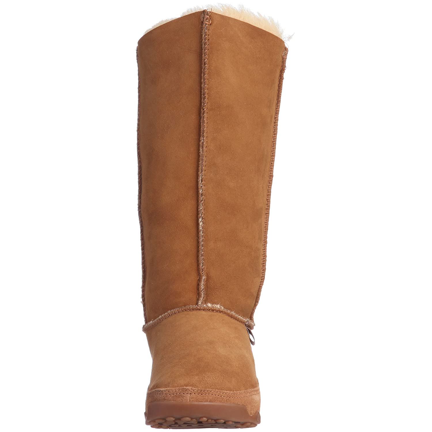 b4a81bf5fd042b FitFlop - Mukluk Tall womens boot - Chestnut size 4 uk  Amazon.co.uk  Shoes    Bags