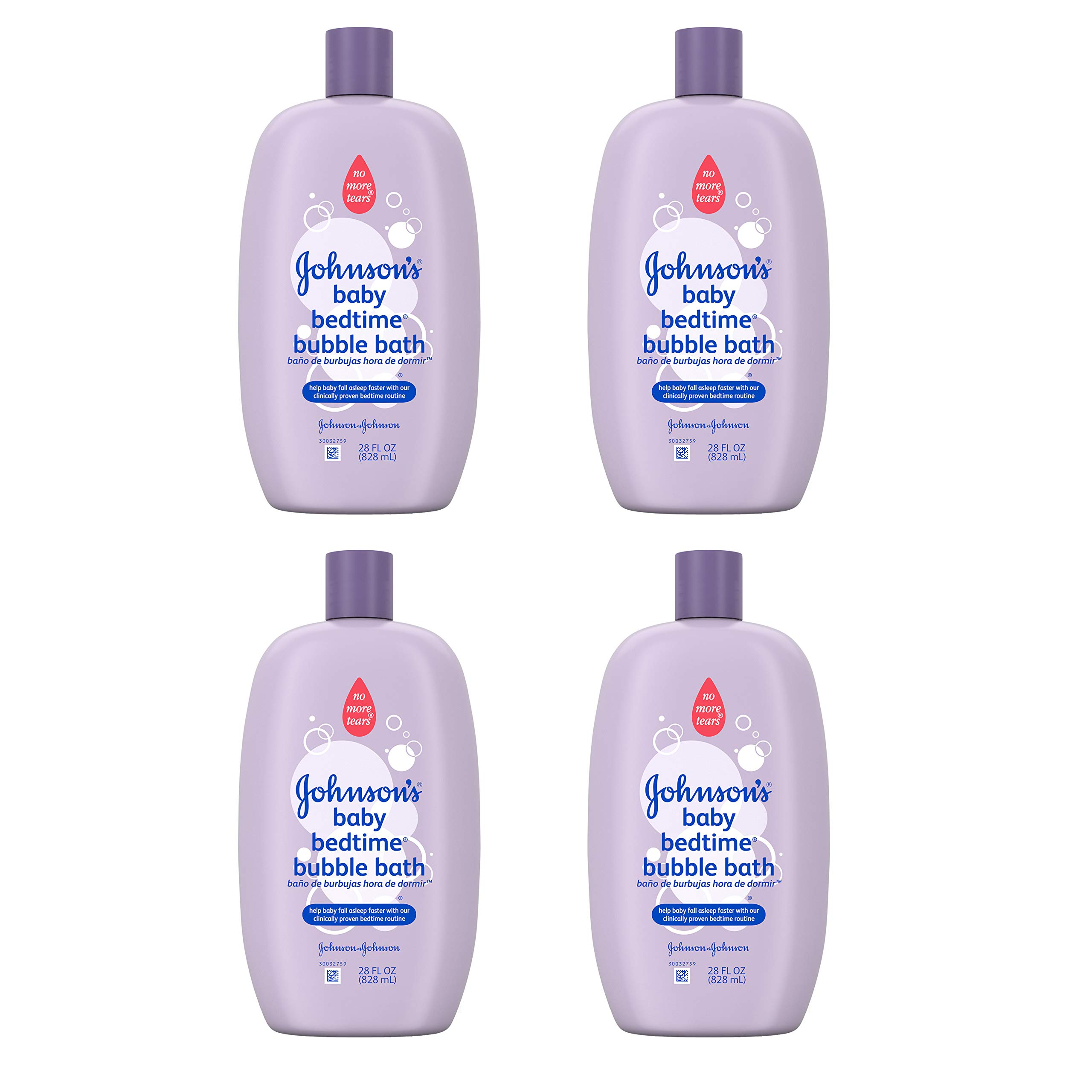 Johnson's Baby Bubble Bath, 28 Fl. Oz. (Pack of 4) by Johnson's Baby