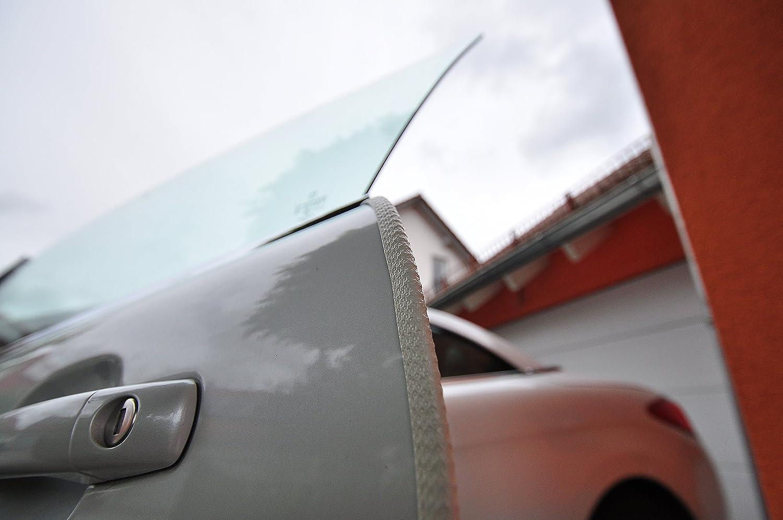 4 Meter T/ürkantenschutz Creme Wei/ß T/ürrammschutz Gummi passend f/ür Ihr Fahrzeug