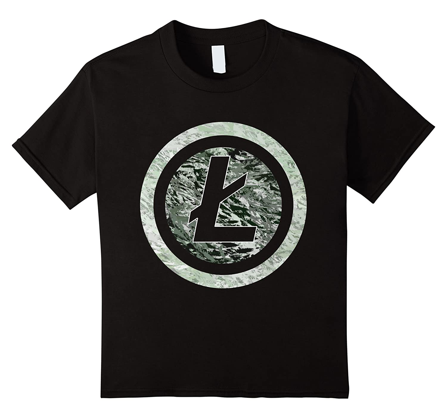 Litecoin T shirt Cryptocurrency Crypto Purple-Awarplus