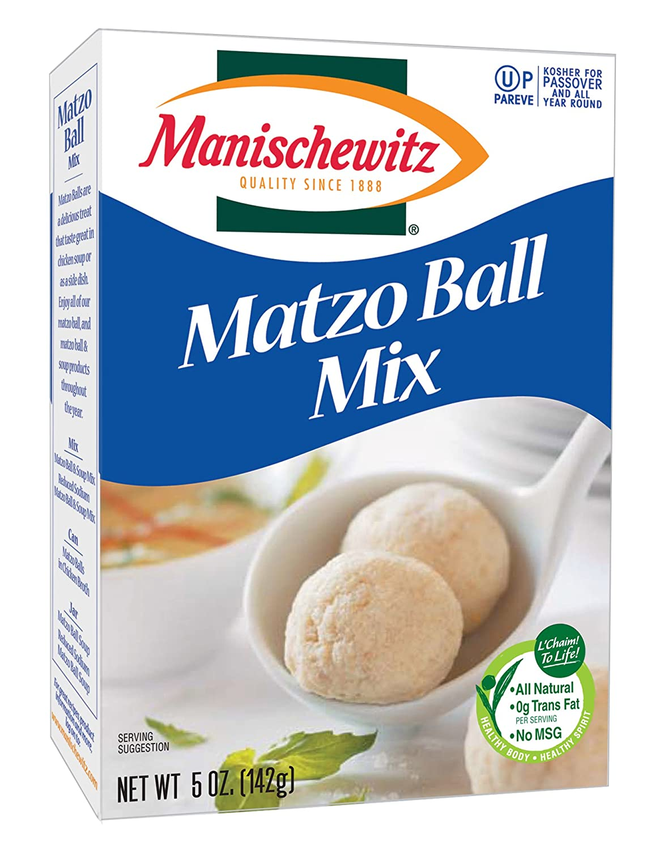 Manischewitz Matzo Ball Mix, 5-ounce boxes, (Pack of 3)