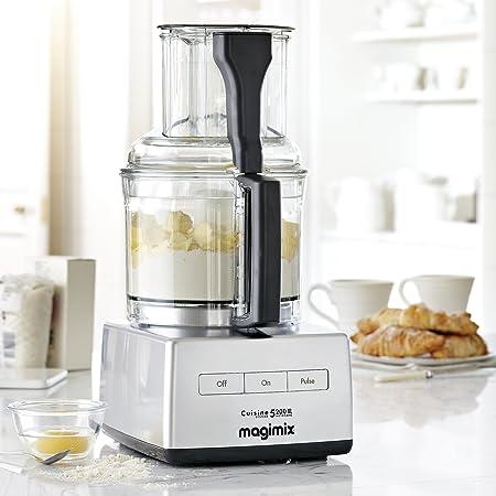 Magimix 5200 XL Premium Robot de cocina, multifuncional, Modelo 18570, 1100 W, Capacidad de 3,7 l: Amazon.es: Hogar