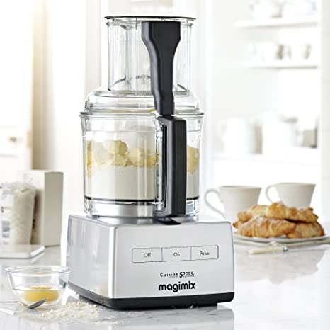Magimix 5200XL Premium Robot de cocina, multifuncional, Modelo 18570, 1100