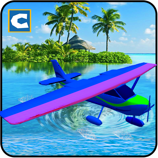 Flying Sea Plane Transport Simulator