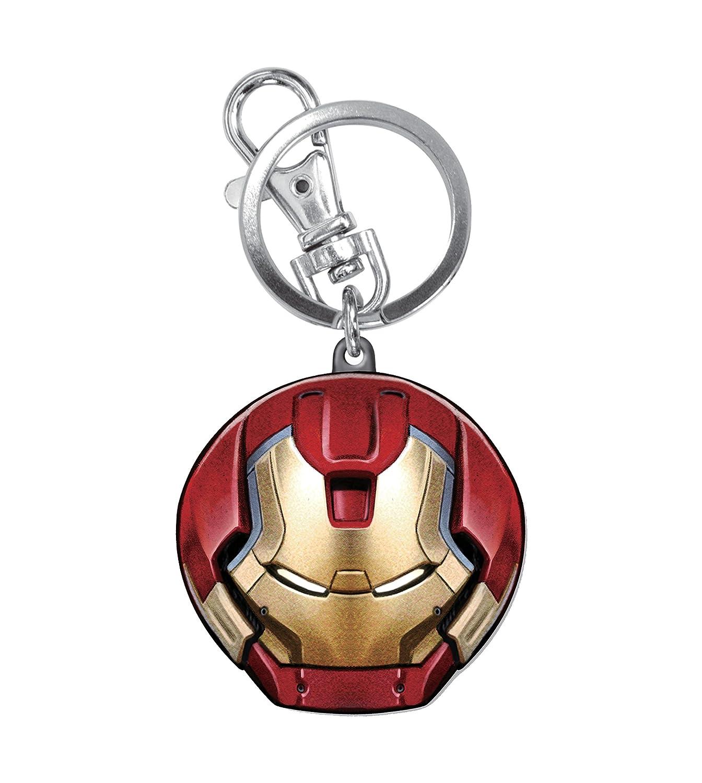 Marvel Avengers 2 Hulkbuster Colored Pewter Key Ring Action Figure