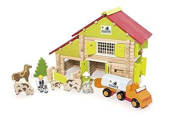 Multi Colour Polesie 37251 Sand Set Tower Double Wall with Castle Bridge-Forms Toys