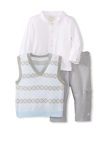 51a434fe2a0c Emile et Rose Baby Boys  Suit Blue Hellblau-grau - Blue - One Size ...