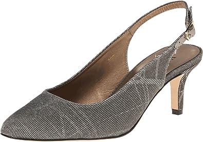 Womens Shoes Vaneli Luella Platinum Nizza Fabric