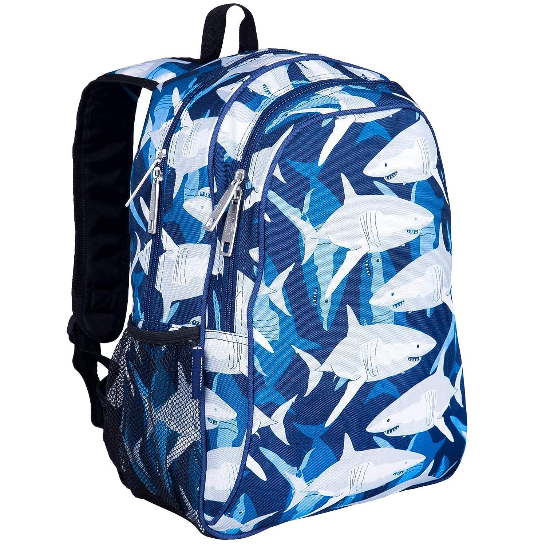 Wildkin Children's  Backpack with Side Pocket - Sharks 14700