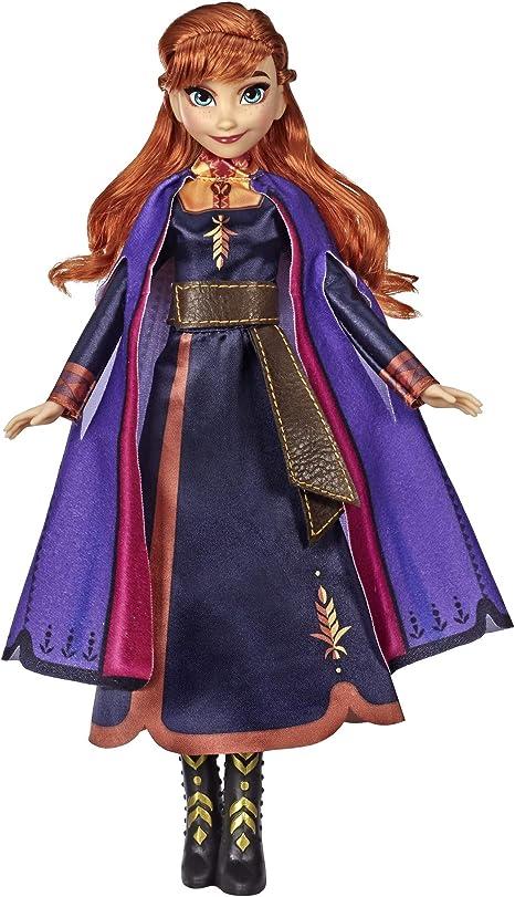 """NEUF! Hasbro ® Disney reine des 2-Poupée avec musique /""""qui chantent ELSA/"""""""