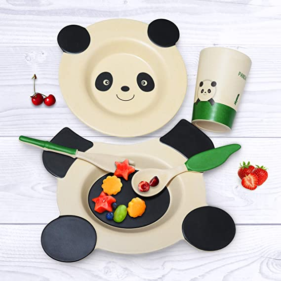 Eco-friendly kids dinnerware