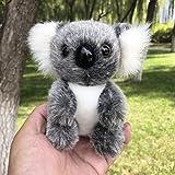 """5"""" Plush Koala Bear Simulation Stuffed Animal Toy Doll Gray"""