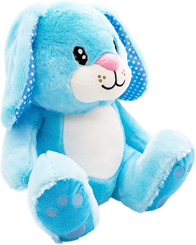 Scentco Easter Bunny Rabbit Scented Stuffed Animal 10 Blueberry