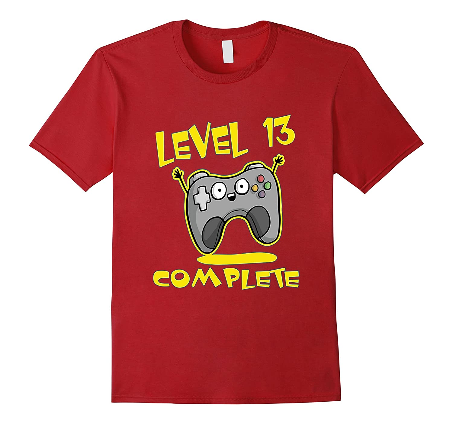 Birthday Gifts 13 Year Old T Shirt Level Complete CD