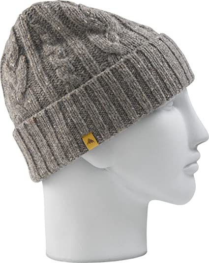 e27271161c7 Burton Bering Beanie Men s Hat grey Stone Hut Size One size  Amazon.co.uk   Clothing
