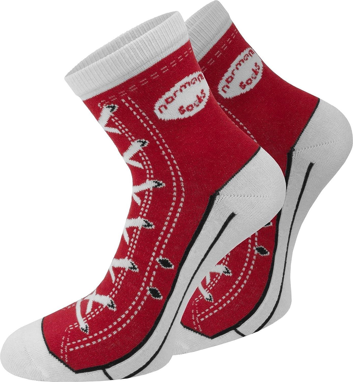 Socken im Schuh-Design