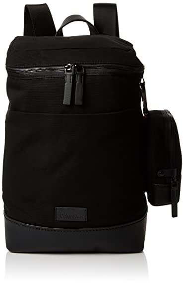 Calvin Klein Modern Bound Fashion Backpack, Sacs à dos homme, (Black), 20x53x35 cm (B x H T)