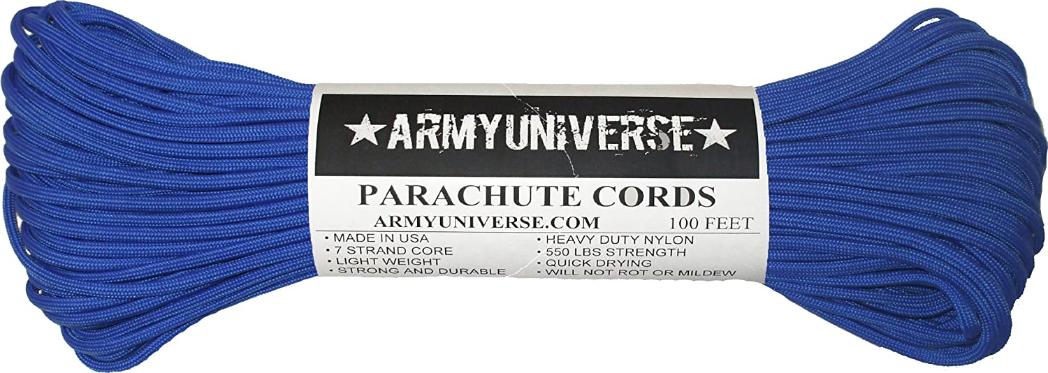 Army Universe Nylon Military Paracord 550 lbs Type III 7 Strand ... aab62d529a0